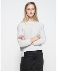 Cheap Monday Save Knit In Grey gray - Lyst