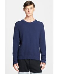 Marc By Marc Jacobs Honeycomb Knit Sweater - Lyst