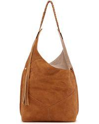 Ella Moss - Skylar Leather Hobo Bag - Lyst