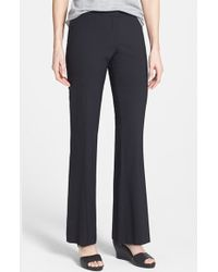 Eileen Fisher Bootcut Trousers - Lyst