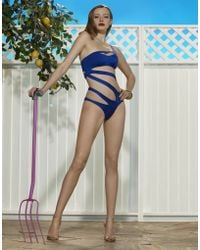 Agent Provocateur Lexxi Swimsuit - Lyst
