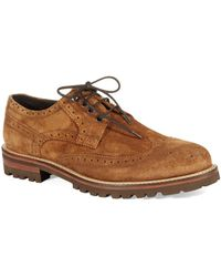 Bruno Magli Brown Pacificio Oxfords - Lyst