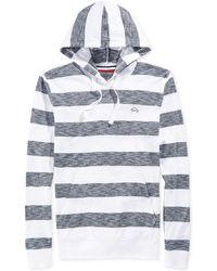 American Rag Rugby Striped Hoodie - Lyst