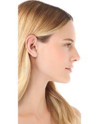 Gorjana - Pristine Circle Stud Earrings - Gold - Lyst