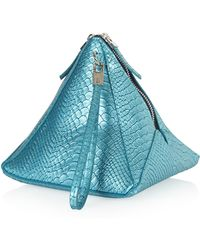 Topshop Triangle Pouch Bag - Lyst