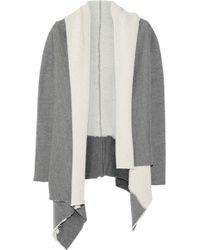OAK - Cotton Blend Jersey Cardigan - Lyst