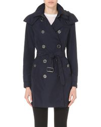 Burberry - The Balmoral Technical Taffeta Trench Coat - Lyst