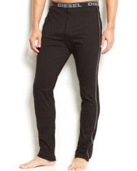 Diesel Men'S Massi J Slim-Fit Lounge Pants black - Lyst