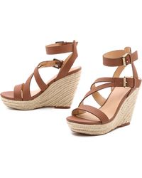 Joe's Jeans - Mckayla Espadrille Wedge Sandals - Lyst