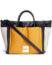 See By Chloé Nellie Large Colourblock Leather Tote - Lyst