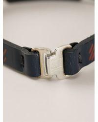 JvdF - Hand-Painted Repp Stripe Bracelet - Lyst