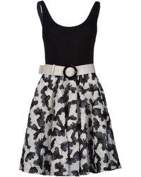 Alice + Olivia Paris Stretch Jersey Dress - Lyst