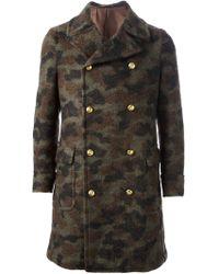 John Sheep - Military Cotton-Wool Coat - Lyst