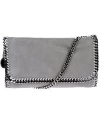 Stella McCartney Chain Trimmed Clutch - Lyst