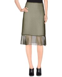 Burberry | 3/4 Length Skirt | Lyst