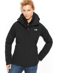 The North Face Hooded Boundary Triclimate Waterproof Zipup Jacket - Lyst