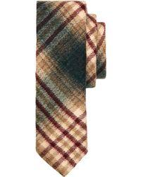 Brooks Brothers Dark Green Plaid Tie - Lyst