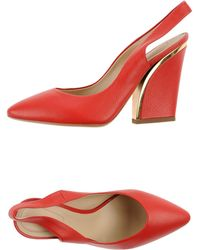 Chloé Court red - Lyst