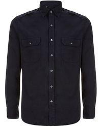 Ralph Lauren Black Label Military Shirt - Lyst
