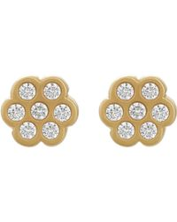 Linda Lee Johnson - Bijoux Stud Earrings - Lyst