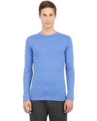 Alternative Apparel Organic Long Sleeve Cotton T-shirt - Lyst