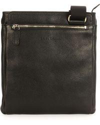 Ferragamo Leather Messenger Bag - Lyst