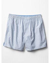 Gap Essex Mini Stripe Boxers - Lyst