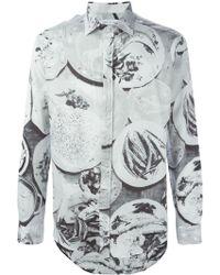 Etro Print Shirt - Lyst