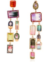 Daniela Villegas Oompa Loompa Earrings multicolor - Lyst
