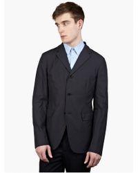 Jil Sander Men'S Navy 'Evita' Jacket blue - Lyst