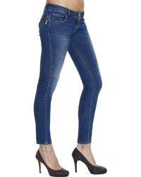 Cesare Paciotti - Jeans Denim Used Bottom Up Details Zip - Lyst