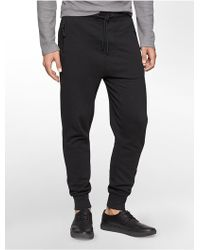 Calvin Klein Jeans Banded Ankle Sweatpants - Lyst