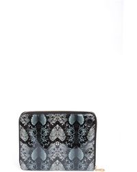 Marc By Marc Jacobs Snake Techno Zip Pouch - Lyst
