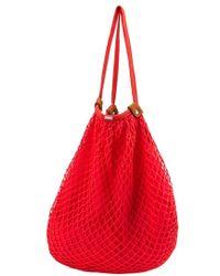Volcom | 'island Vibe' Crochet Cotton Hobo Bag | Lyst