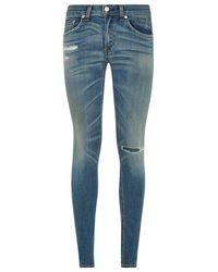 Rag & Bone Skinny Jeans - Lyst