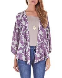 House Of Harlow Mai Kimono Jacket - Lyst