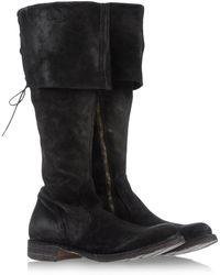 Fiorentini + Baker Black Tall Boots - Lyst