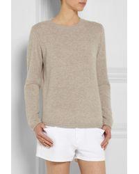 Chinti & Parker Shirt Hem Cashmere Sweater - Lyst