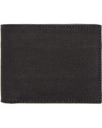 Alexander Wang - Black Rubberized Canvas Wallet - Lyst