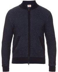 Orley - Makra-stitch Cotton Bomber Jacket - Lyst