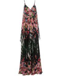 Elie Saab | Floral Print Maxi Dress | Lyst