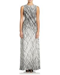 BCBGMAXAZRIA Chloey Open Back Maxi Dress - Lyst