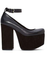 Nasty Gal Shoe Cult Upscale Platform - Lyst