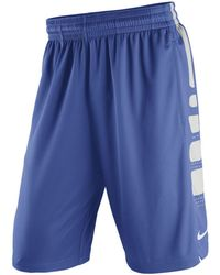 Nike - Men's Kentucky Wildcats Basketball Practice Elite Stripe Shorts -  Lyst
