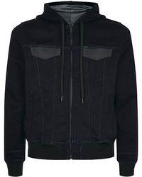 Diesel Trackley Hooded Jacket - Lyst