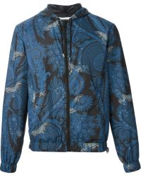 Givenchy Paisley Print Windbreaker Jacket - Lyst