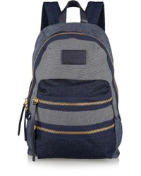 Marc By Marc Jacobs Packrat Chambray Backpack - Lyst