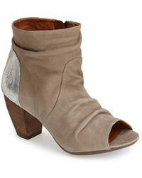 Fly London Open Toe Leather Boot - Lyst