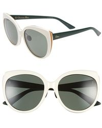 Dior 'Ific' 57Mm Oversized Sunglasses - Lyst