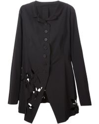 Rundholz - Flower Cut Out Jacket - Lyst